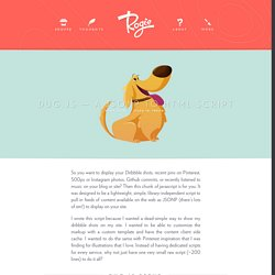Dug.js —A JSONP to HTML Script — Rog.ie