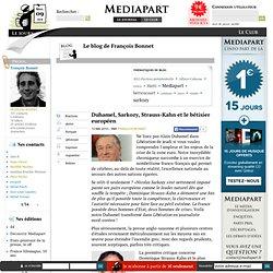 Duhamel, Sarkozy, Strauss-Kahn et le bêtisier européen