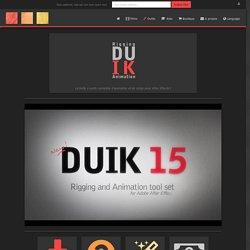 Duik – DuDuF IK Tools – DuDuF R&D