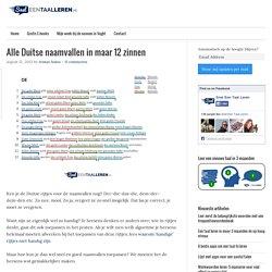 Alle Duitse naamvallen in maar 12 zinnen - Snel een taal leren