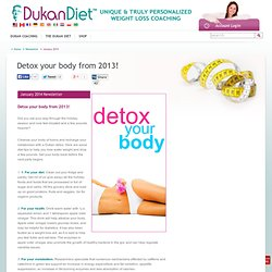 Dukan Diet Newsletter – Weight Loss Tips