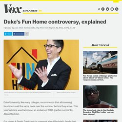 Duke's Fun Home controversy, explained
