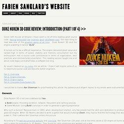 Duke Nukem 3D Code Review