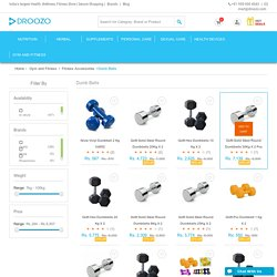 Metal Plates Dumbbell Set Online in India at Amazing Price - Droozo