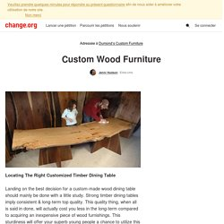 Dumond's Custom Furniture: Custom Wood Furniture
