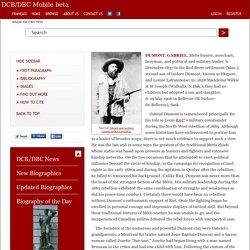 DUMONT, GABRIEL – Volume XIII (1901-1910)
