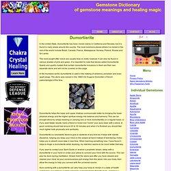 Dumortierite - a psychic gemstone