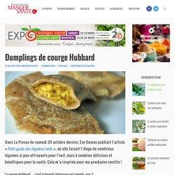 Dumplings de courge Hubbard