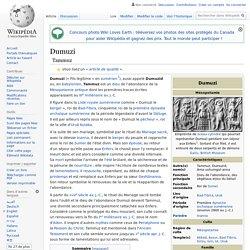 Dumuzi