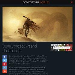 Dune Concept Art and Illustrations I