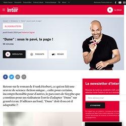 """""""Dune"""" : sous le pavé, la page !"""