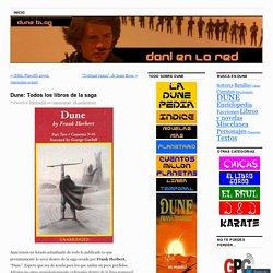 Dune: Todos los libros de la saga