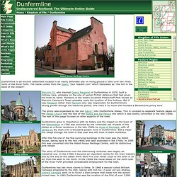 Dunfermline Feature Page on Undiscovered Scotland