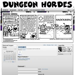 Dungeon Hordes - 01/31/2011