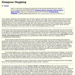 Dungeon Mapping