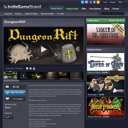 DungeonRift - download this indie game today from the IndieGameStand Store