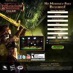 Dungeons & Dragons Online®: Eberron Unlimited™ Sign Up Now!