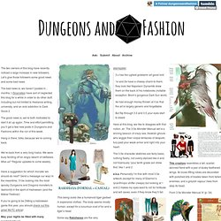 Dungeons and Fashion