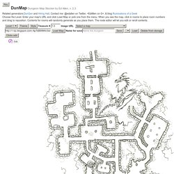 DunMap Dungeon Map Stocker