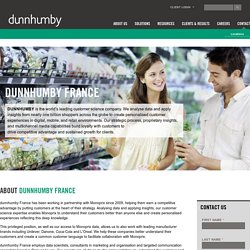 dunnhumby France: Customer Insights that Drive Growth