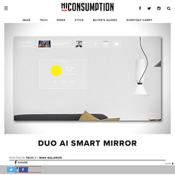 Duo AI Smart Mirror