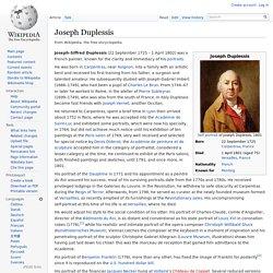 Joseph Duplessis