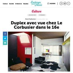 Duplex avec vue chez Le Corbusier dans le 16e