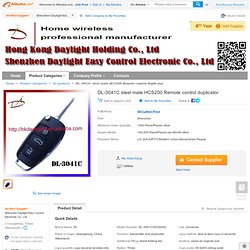 DL-3041C steel mate HCS200 Remote control duplicator, View Remote control duplicator, DL Product Details from Shenzhen Daylight Easy Control Electronic Co., Ltd. on Alibaba.com
