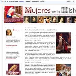 Reina, duquesa, cruzada, Leonor de Aquitania (1124-1204)