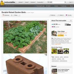 Durable Raised Garden Beds