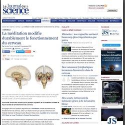 La méditation modifie durablement le fonctionnement du cerveau