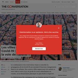 Les villes durables après la Covid-19:l'exemple de Barcelone, la voie de l'avenir?
