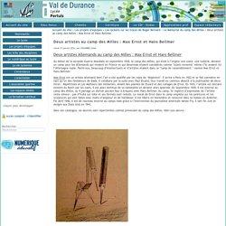 Lycée Val de Durance - Deux artistes au camp des Milles : Max Ernst et Hans Bellmer