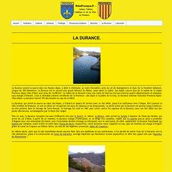 La Durance, la plus grande riviere provençale.