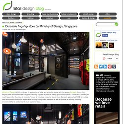Durasafe flagship store by Ministry of Design, Singapore