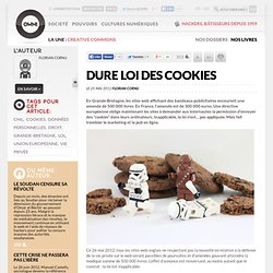 Europe : Dure loi des cookies