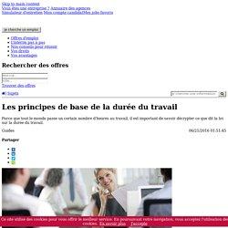 Durée du travail - Mes droits - Adecco.fr