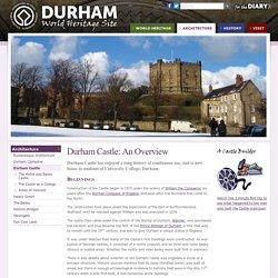 Durham Castle - Durham World Heritage Site