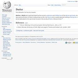 Durius