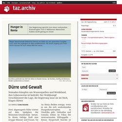 Dürre und Gewalt - taz.de