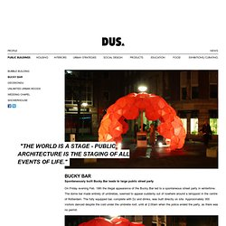 DUS Architects Amsterdam - Bucky Bar