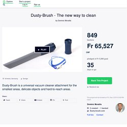 Dusty-Brush - The new way to clean by Dominic Moraitis
