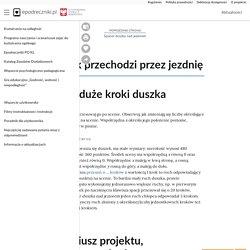 Duszek przechodzi przez jezdnię - Epodreczniki.pl