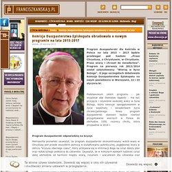 Komisja Duszpasterstwa Episkopatu obradowała o nowym programie na lata 2013-2017 - Franciszkańska 3