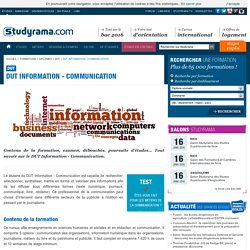 DUT Information - Communication