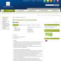 DUT Information et Communication