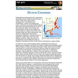 Dutch Colonization