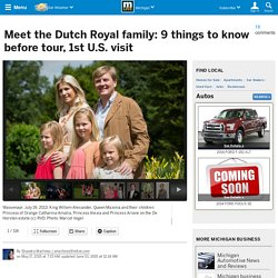 Meet the Dutch Royal family: 9 things to know before tour, 1st U.S. visit