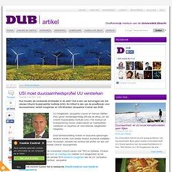 USI moet duurzaamheidsprofiel UU versterken