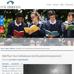 SEM Plan: Your Institutional and Situational Assessment